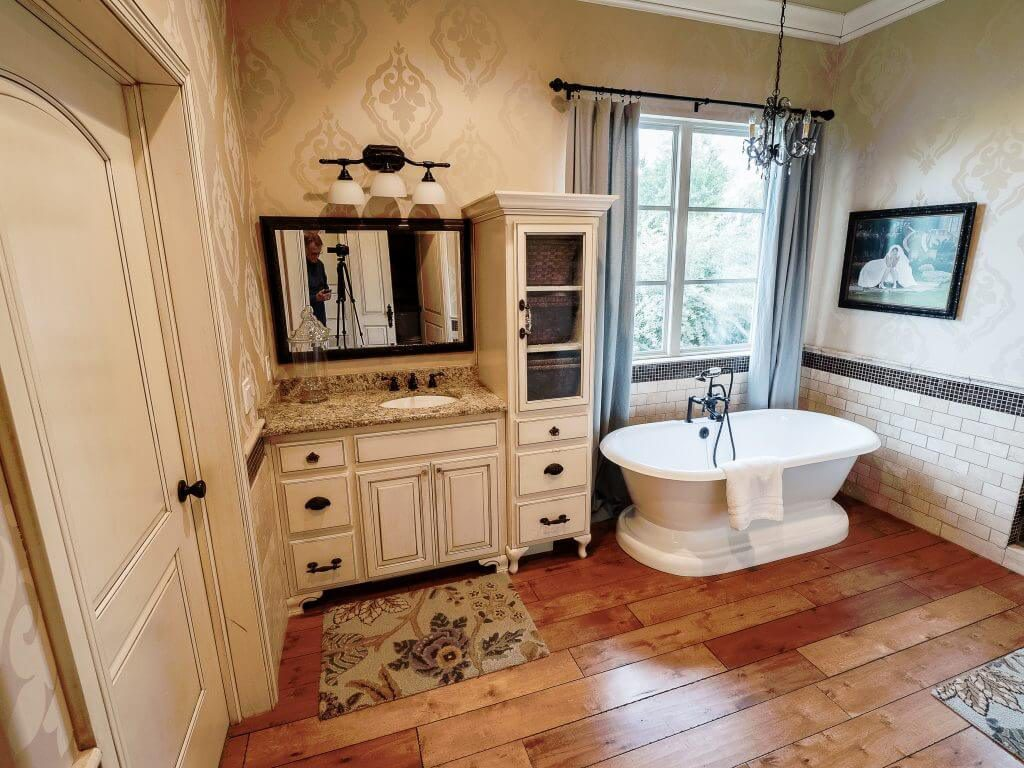 Master Bathroom Photograph