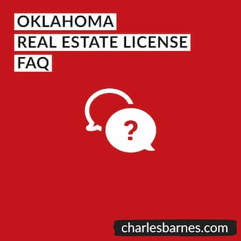 Oklahoma Real Estate License FAQ